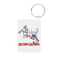Hunting or Football? Keychains
