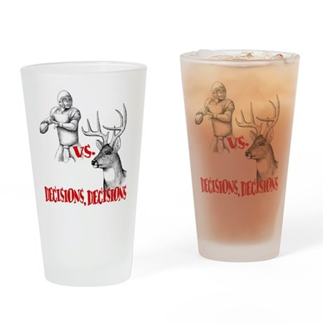 Hunting or Football? Drinking Glass