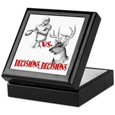 Hunting or Football? Keepsake Box