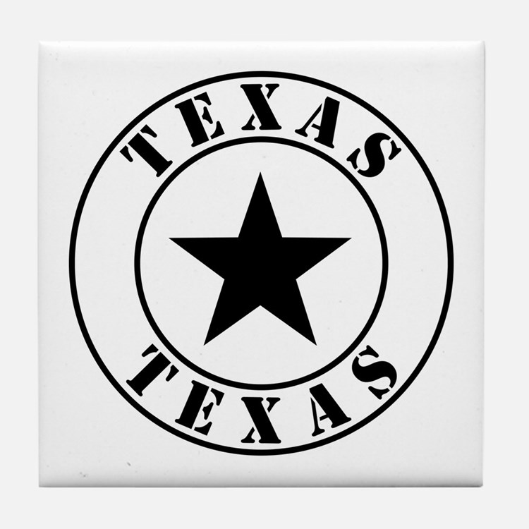 Texas, Lone Star State Tile Coaster