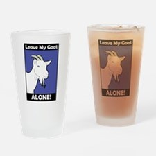 Leave My Goat Alone Drinking Glass