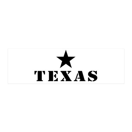 Texas, Lone Star State 21x7 Wall Peel