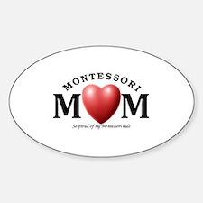 Cool Montessori school Sticker (Oval)
