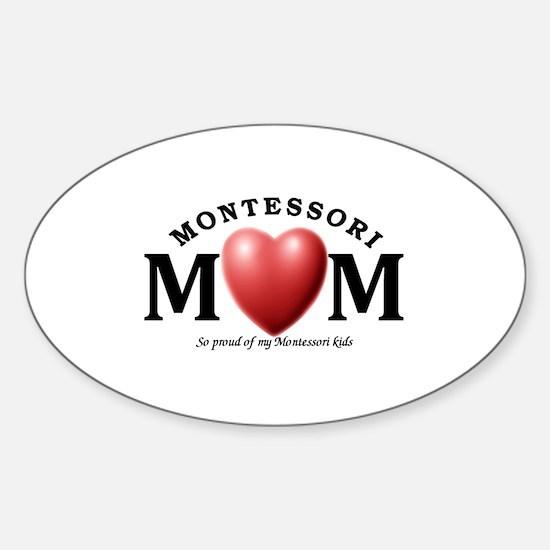 Montessori Sticker (Oval)