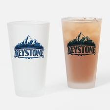 Keystone Colorado Drinking Glass