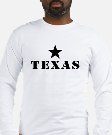 Texas, Lone Star State Long Sleeve T-Shirt