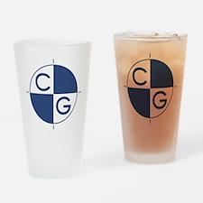 Center of Gravity Drinking Glass
