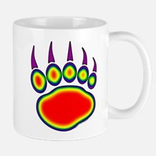 Bear Paw Heat Map Mug