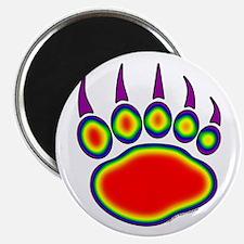 Bear Paw Heat Map Magnet