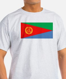 Flag of Eritrea Ash Grey T-Shirt