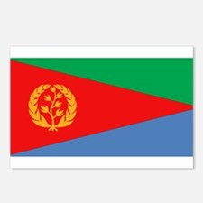 Flag of Eritrea Postcards (Package of 8)