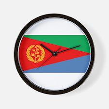 Flag of Eritrea Wall Clock