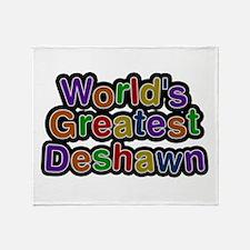 World's Greatest Deshawn Throw Blanket