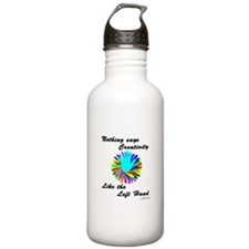 Left Handed Creativity Water Bottle