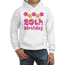 20th Birthday Party Hoodie