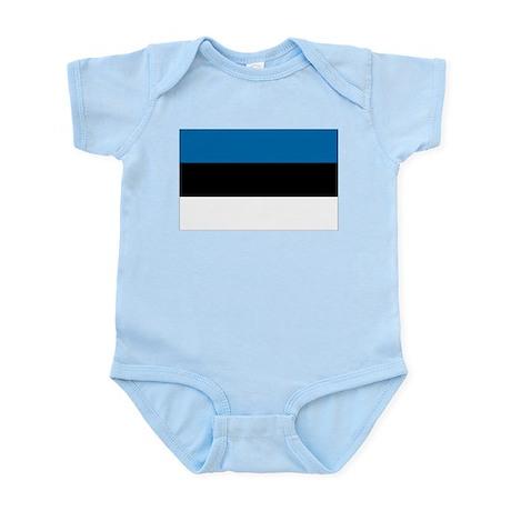 Flag of Estonia Infant Creeper