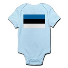 Flag of Estonia Infant Creeper