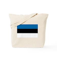 Flag of Estonia Tote Bag