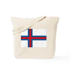 Faroe Islands Flag Tote Bag