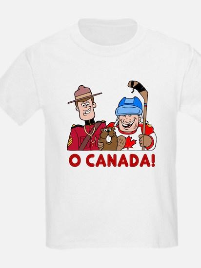 O Canada Kids T-Shirt