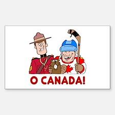 O Canada Vinyl Decal