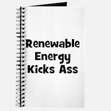 Renewable Energy Kicks Ass Journal