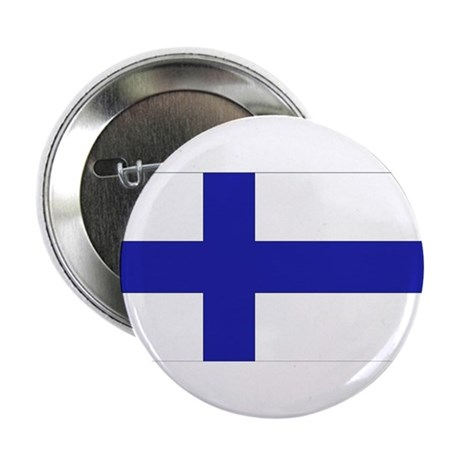"Finnish Flag 2.25"" Button (10 pack)"