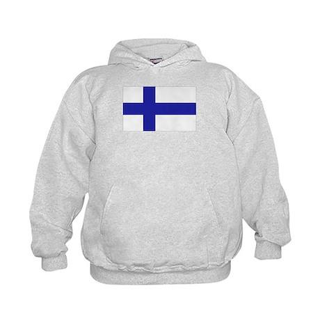 Finnish Flag Kids Hoodie