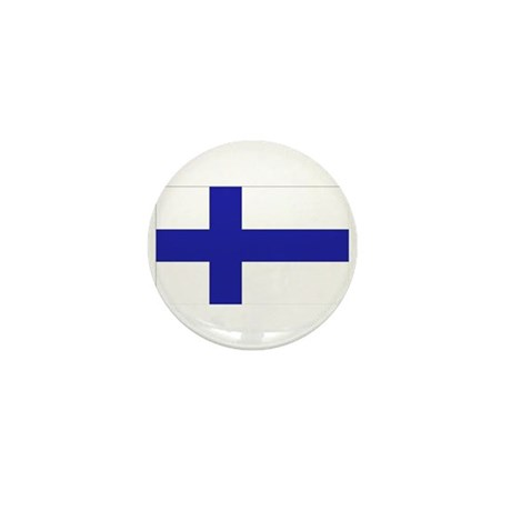 Finnish Flag Mini Button (10 pack)