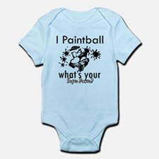 I Paintball Infant Bodysuit