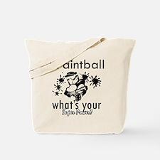 I Paintball Tote Bag