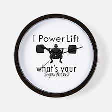 I Power Lift Wall Clock