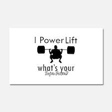 I Power Lift Car Magnet 20 x 12