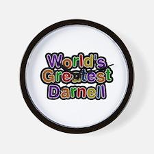 World's Greatest Darnell Wall Clock
