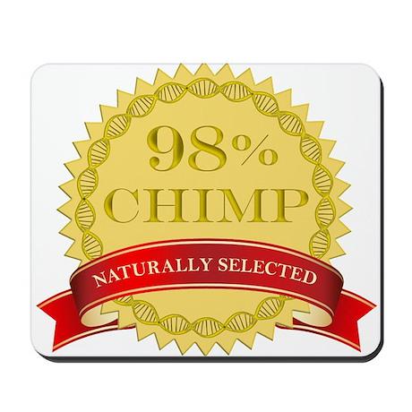 98% Chimp Naturally Selected Mousepad