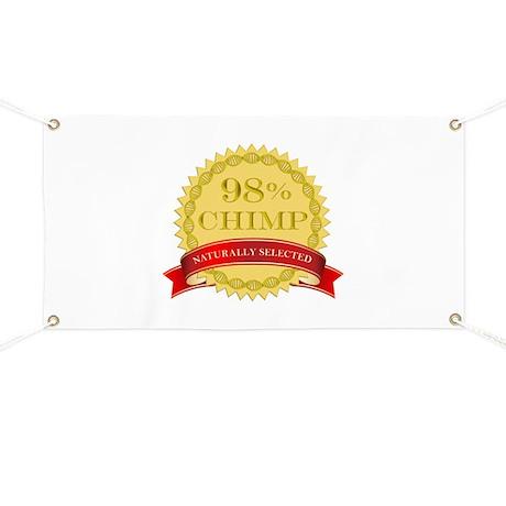 98% Chimp Naturally Selected Banner