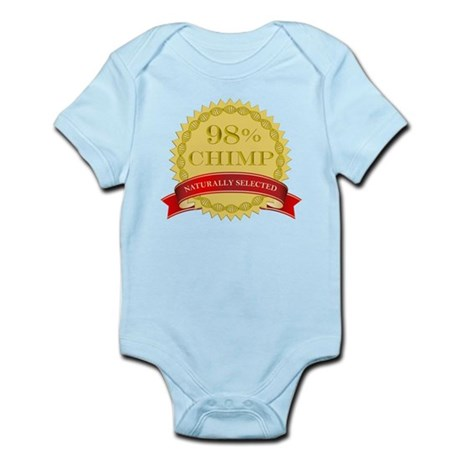 98% Chimp Naturally Selected Infant Bodysuit
