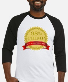 98% Chimp Naturally Selected Baseball Jersey