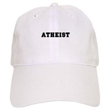 Atheist College Baseball Cap