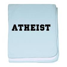 Atheist College baby blanket
