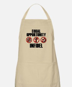 Equal Opportunity Infidel Apron