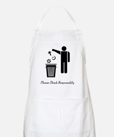 Please Think Responsibly Apron