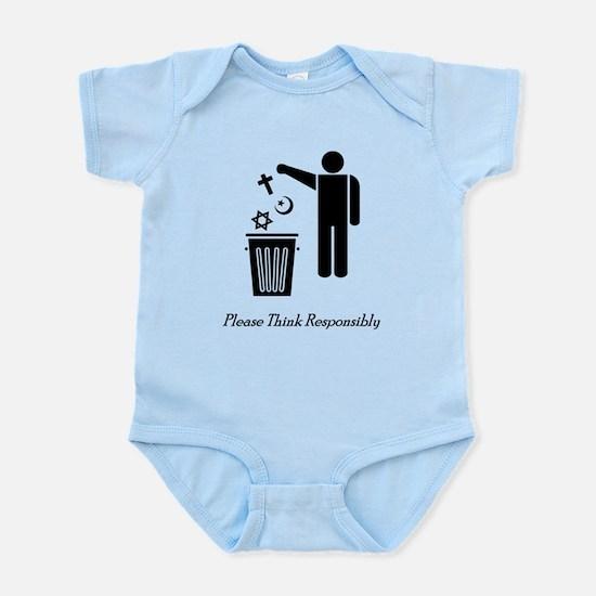 Please Think Responsibly Infant Bodysuit
