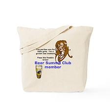Funny Beer summit Tote Bag