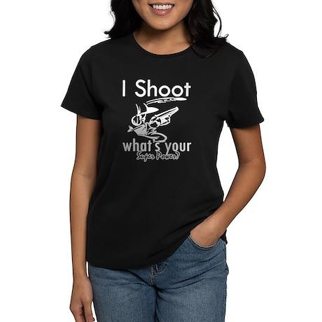 I Shoot Women's Dark T-Shirt