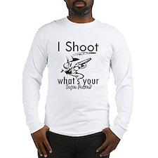 I Shoot Long Sleeve T-Shirt