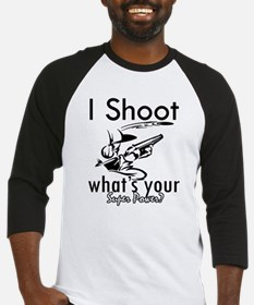 I Shoot Baseball Jersey