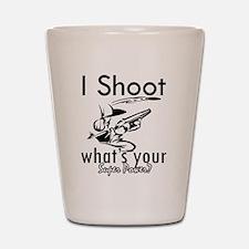 I Shoot Shot Glass