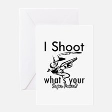 I Shoot Greeting Card