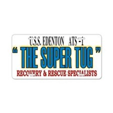 Super Tug ATS -1 Aluminum License Plate